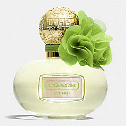 COACH B349 Poppy Citrine Blossom GOLD/GREEN