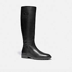 COACH C0025 Fynn Boot In Athletic Calf BLACK