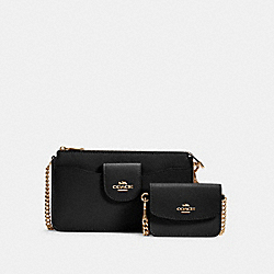 POPPY CROSSBODY - C0737 - IM/BLACK