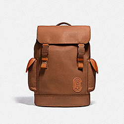 RIVINGTON BACKPACK - C0881 - JI/DARK SADDLE/VINTAGE GINGER