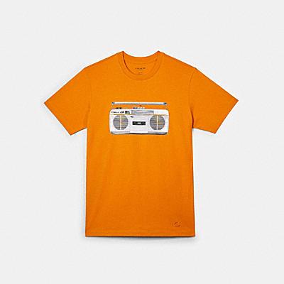 ブームボックス Tシャツ