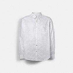 LONG SLEEVE NOVELTY SHIRT - C0970 - WHITE
