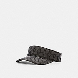 SIGNATURE VISOR - BLACK SIGNATURE - COACH C0976