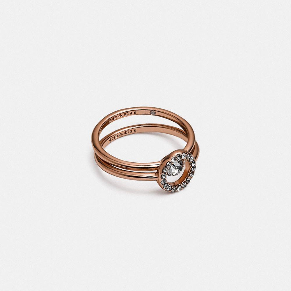 光圈密鑲戒指組合