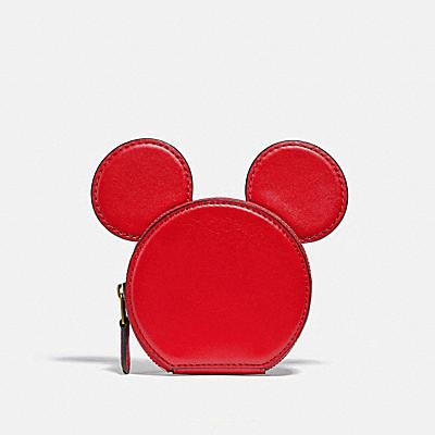 ディズニー ミッキー マウス X キース・ヘリング コイン ケース