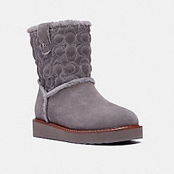 COACH C1235 Ivy Boot HEATHER GREY