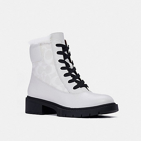 COACH C1263 LAYNE BOOT OPTIC WHITE