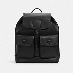 HERITAGE BACKPACK - QB/BLACK - COACH C1265