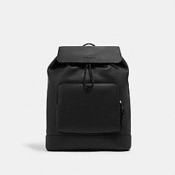 COACH C1280 Turner Backpack QB/BLACK