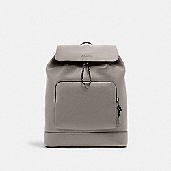 TURNER BACKPACK - C1280 - QB/HEATHER GREY