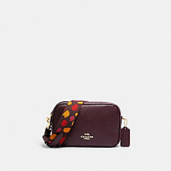 COACH C1302 - JES CROSSBODY 20 IM/RAISIN