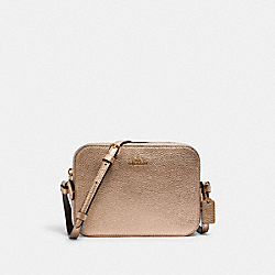 COACH C1404 Mini Camera Bag IM/METALLIC PALE GOLD