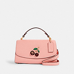 COACH C1436 Tilly Satchel 23 With Cherry IM/CANDY PINK