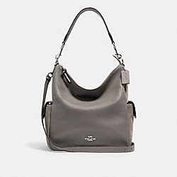 PENNIE SHOULDER BAG - C1522 - SV/HEATHER GREY