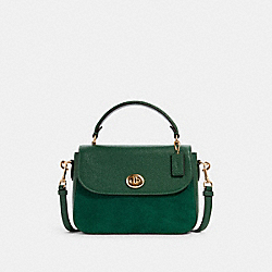 COACH C1559 - MARLIE TOP HANDLE SATCHEL IM/KELLY GREEN
