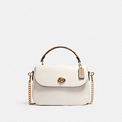 COACH C1560 - MARLIE TOP HANDLE SATCHEL IM/CHALK MULTI