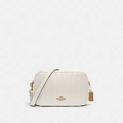 COACH C1569 - JES CROSSBODY WITH LINEAR QUILTING IM/CHALK