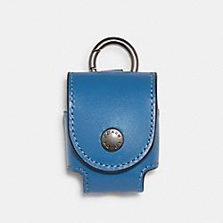 COACH C1740 Earbud Case QB/BLUE JAY
