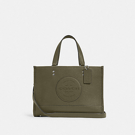 COACH C2004 DEMPSEY CARRYALL WITH PATCH SV/SURPLUS