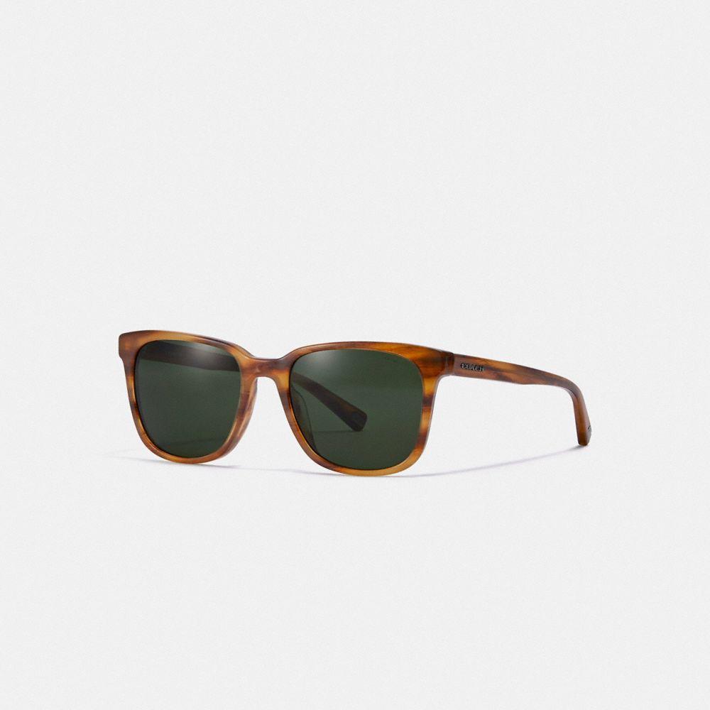 皮牌方框太陽眼鏡