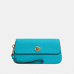 COACH ORIGINALS WRISTLET - IM/TEAL - COACH C2298