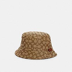 SIGNATURE BUCKET HAT - C2714 - KHAKI SIGNATURE