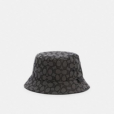 COACH C2714 SIGNATURE BUCKET HAT BLACK SIGNATURE