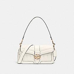 COACH C2801 Georgie Shoulder Bag With Quilting IM/CHALK