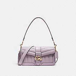 GEORGIE SHOULDER BAG WITH QUILTING - C2801 - IM/SOFT LILAC