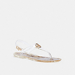 NICOLLE SANDAL - C2802 - CLEAR