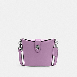 ADDIE CROSSBODY - SV/VIOLET ORCHID - COACH C2814