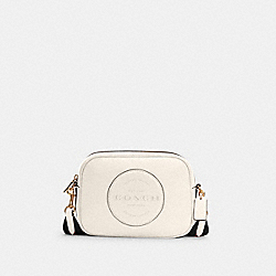 DEMPSEY CAMERA BAG WITH PATCH - IM/CHALK - COACH C2828