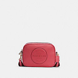 DEMPSEY CAMERA BAG WITH PATCH - IM/FUCHSIA - COACH C2828
