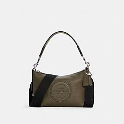 DEMPSEY SHOULDER BAG WITH PATCH - C2829 - SV/SURPLUS