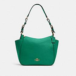 COACH C2853 Rori Shoulder Bag IM/BRIGHT JADE