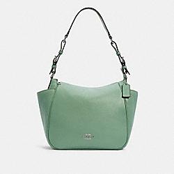 COACH C2853 Rori Shoulder Bag SV/WASHED GREEN