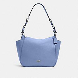 COACH C2853 Rori Shoulder Bag SV/PERIWINKLE