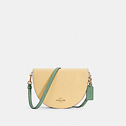ELLEN CROSSBODY IN COLORBLOCK - IM/VANILLA CREAM MULTI - COACH C2857