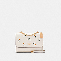KLARE CROSSBODY WITH DAISY EMBROIDERY - IM/CHALK MULTI - COACH C2858