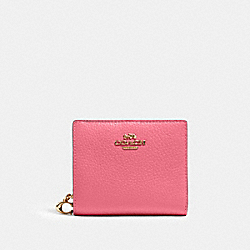 COACH C2862 Snap Wallet IM/CONFETTI PINK