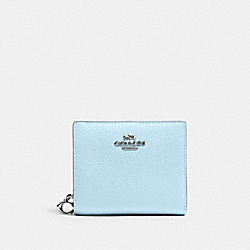 COACH C2862 Snap Wallet SV/WATERFALL