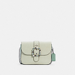 GEMMA CROSSBODY IN COLORBLOCK - SV/PALE GREEN MULTI - COACH C2871