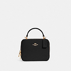 COACH C2872 - BOX CROSSBODY IM/BLACK