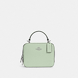 COACH C2872 - BOX CROSSBODY SV/PALE GREEN