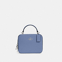 BOX CROSSBODY - SV/PERIWINKLE - COACH C2872