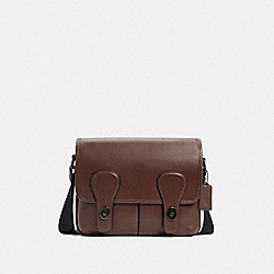 HERITAGE MAP BAG - C2906 - QB/DARK TEAK