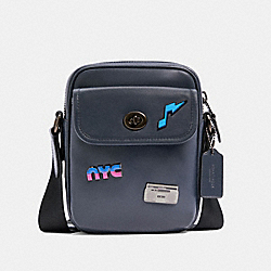 HERITAGE CROSSBODY WITH 80'S PINS - QB/MIDNIGHT - COACH C2908
