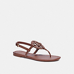 COACH C2924 Jaci Sandal SADDLE