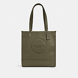 DEMPSEY TOTE WITH PATCH - C3078 - SV/SURPLUS