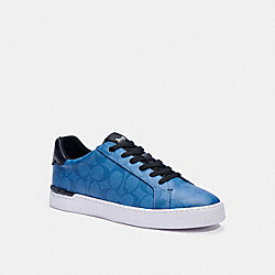 CLIP LOW TOP SNEAKER - INDIGO - COACH C3080